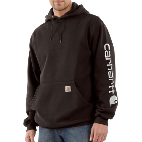 Signature Logo Sleeve Hoodie - Factory Seconds (For Big and Tall Men)