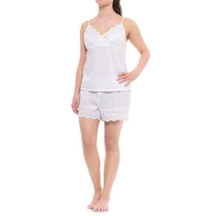 Sigrid Olsen Babydoll Pajamas - Sleeveless (For Women) in White - Closeouts