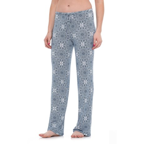Sigrid Olsen Mega Medallion Lounge Pants (For Women) in Deep Midnight