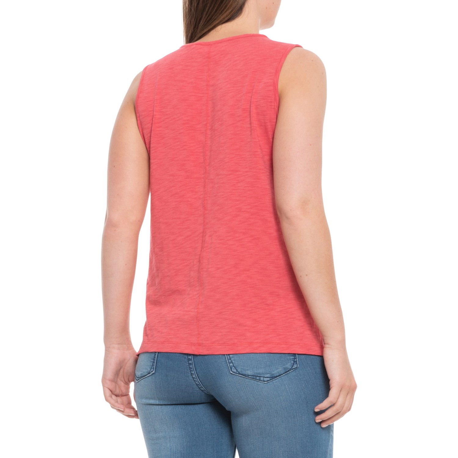39e5847539d Sigrid Olsen Nantucket Scoop Neck Slub Tank Top (For Women) - Save 28%