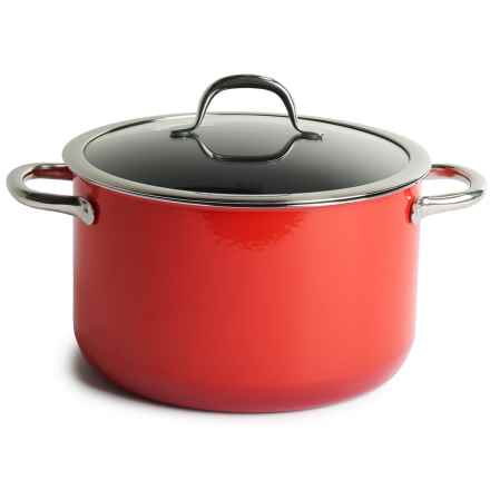 Silit Passion High Casserole Pot with Lid - 6.7 qt. in Red - Closeouts