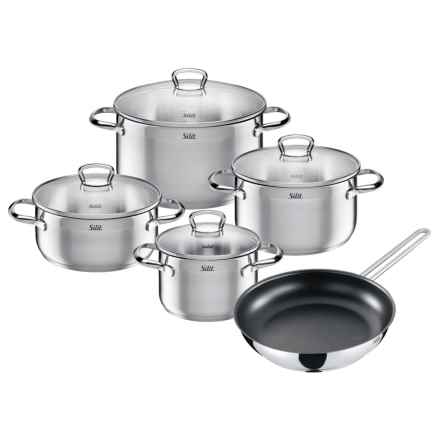 Silit Toskana Stainless Steel Cookware Set - 9-Piece in Stainless Steel - Closeouts