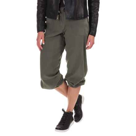 Silk Joggers (For Women) in Mineral - 2nds