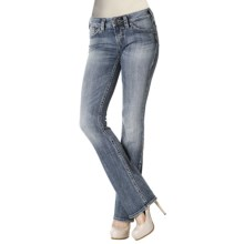 Silver Jeans Aiko Bootcut Jeans - Mid Rise (For Women) in Light Wash - Closeouts