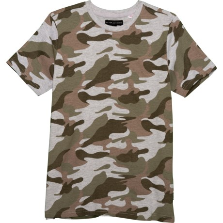 7041e2c80 SILVER JEANS CO. Knit Camo T-Shirt - Short Sleeve (For Big Boys