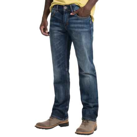 Silver Jeans Nash Jeans - Classic Fit, Straight Leg (For Men) in Indigo - Closeouts