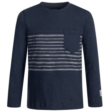 Silver Jeans Striped Shirt - Long Sleeve (For Big Boys)