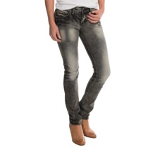 Silver Jeans Suki Jeans - Slim Fit (For Women) in Grey - Closeouts