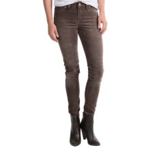 Silver Jeans Suki Jeggings - Corduroy, Mid Rise (For Women) in Brown - Closeouts
