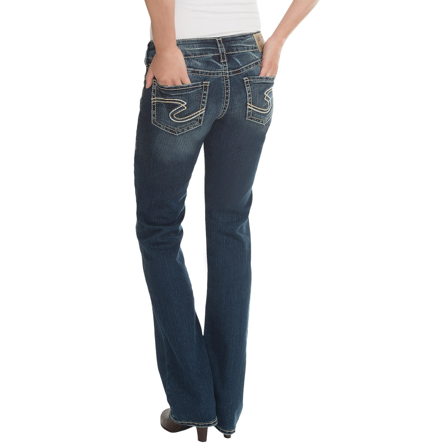 Silver Jeans Suki Mid Slim Jeans (For Women) 9890J - Save 65%