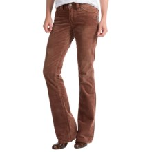 Silver Jeans Suki Surplus Corduroy Pants - Mid Rise, Bootcut (For Women) in Rust - Closeouts
