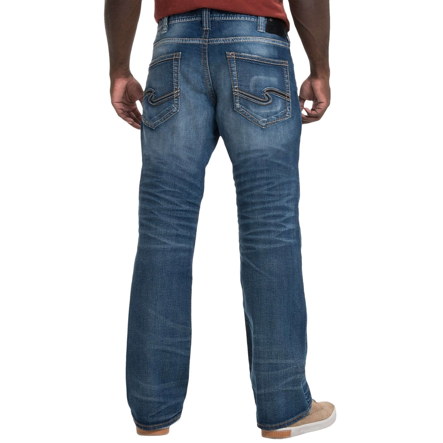 Mens Silver Jeans Clearance - Jeans Am
