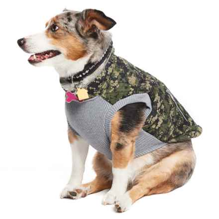 Silver Paw Easy Fit Dog Vest in Camo - Closeouts