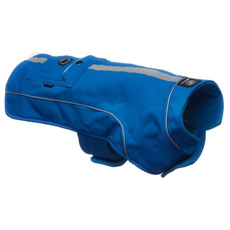 Silver Paw Easy Fit Heat Jacket in Blue