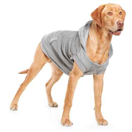 Silver Paw LW-3 Dog Hoodie in Grey - Closeouts