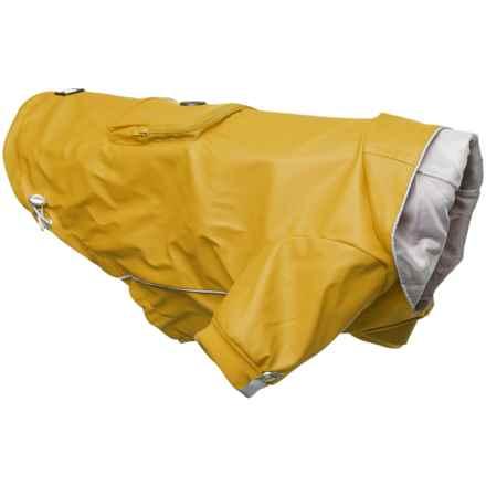 Silver Paw Reversible Dog Rain Coat in Yellow - Closeouts