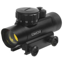 Simmons Compact Red Dot Scope - 1x20 in Black - Closeouts