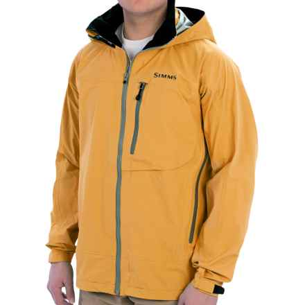 Simms Acklins Gore-Tex® Jacket - Waterproof (For Men) in Autumn Leaf - Closeouts