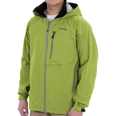 Simms Acklins Gore-Tex® Jacket - Waterproof (For Men) in Citron - Closeouts