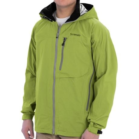 Simms Acklins Gore-Tex® Jacket - Waterproof (For Men) in Citron