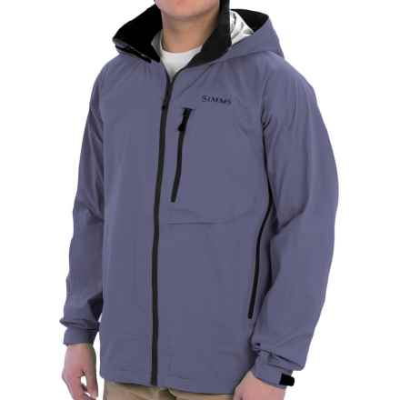 Simms Acklins Gore-Tex® Jacket - Waterproof (For Men) in Nightshade - Closeouts
