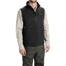 Simms ADL Fleece Vest - Windstopper® (For Men) in Black - Closeouts
