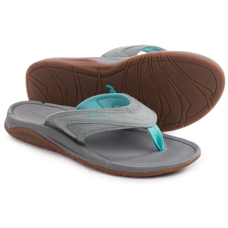 Simms Atoll Flip Flops Vegan Leather (For Women)