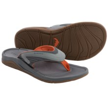 Simms Atoll Sandals - Flip-Flops (For Men and Women) in Concrete - Closeouts