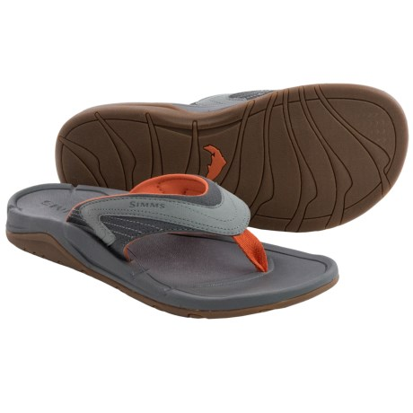 Simms Atoll Sandals Flip Flops (For Men and Women)