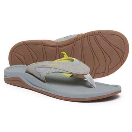 Simms Atoll Sandals - Flip-Flops (For Men) in Chartreuse - Closeouts