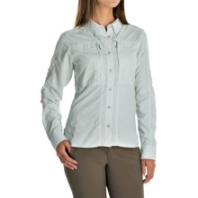 Simms Attractor Shirt - UPF 50+, Long Sleeve (For Women) in Geo Title Frost - Closeouts