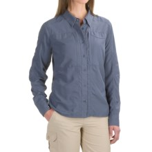 Simms Attractor Shirt - UPF 50+, Long Sleeve (For Women) in Nightshade - Closeouts