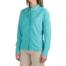Simms Attractor Shirt - UPF 50+, Long Sleeve (For Women) in Pool - Closeouts