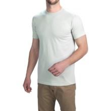 Simms Bass Hunter T-Shirt - Short Sleeve (For Men) in Grey - Closeouts