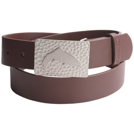 Simms Big Sky Belt - Leather in Brown