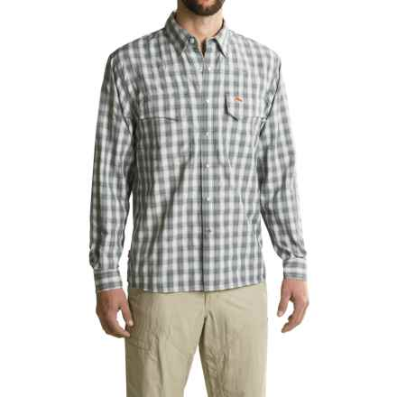 Simms Big Sky Shirt - UPF 50+, Long Sleeve (For Men) in Nightfall Plaid - Closeouts