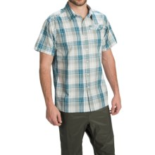 Simms Bimini Shirt - UPF 50+, Short Sleeve (For Men) in Ink Plaid - Closeouts
