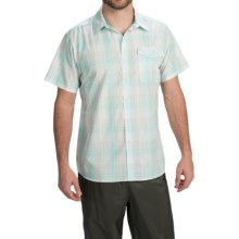 Simms Bimini Shirt - UPF 50+, Short Sleeve (For Men) in Shore Plaid - Closeouts