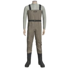 Simms Blackfoot Chest Waders - Muck Boot Arctic Sport Felt Sole Boots (For Men) in Brown - Closeouts