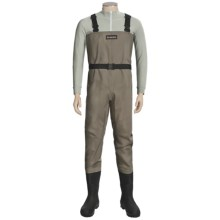 Simms Blackfoot Chest Waders - Muck Boot Arctic Sport Lugged Sole Boots (For Men) in Brown - Closeouts