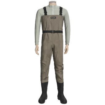Simms Blackfoot Chest Waders - Muck Boot Arctic Sport Lugged Sole Boots (For Men)