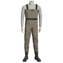 Simms Blackfoot Chest Waders - Muck Boot Wetlands Felt Sole Boots (For Men) in Brown - Closeouts