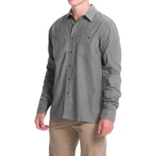 Simms Black's Ford Flannel Shirt - UPF 50, Long Sleeve (For Men) in Charcoal - Closeouts
