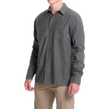 Simms Black's Ford Flannel Shirt - UPF 50, Long Sleeve (For Men) in Nightfall - Closeouts