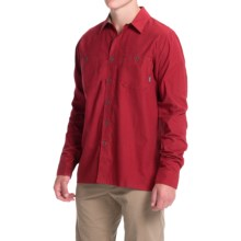 Simms Black's Ford Flannel Shirt - UPF 50, Long Sleeve (For Men) in Ruby - Closeouts
