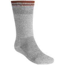Simms Boot Socks - 2-Pack, Heavyweight, Over-the-Calf (For Men and Women) in Grey / Orange - Closeouts
