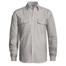 Simms Bugblocker Plaid COR3 Shirt - No Fly Zone Insect Repellent, UPF 30, Long Sleeve (For Men) in Green - Closeouts