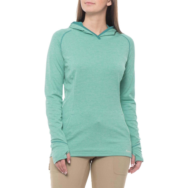 b17a401f5 Simms BugStopper® Hoodie Shirt - UPF 50+, Long Sleeve (For Women) ...