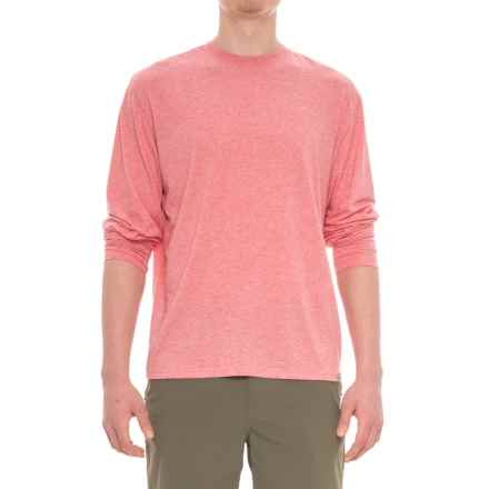 Simms Bugstopper Insect Shield® Tech T-Shirt - UPF 20+, Long Sleeve (For Men) in Brick - Closeouts