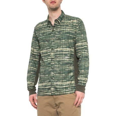 62b1621f Simms BugStopper® Intruder Bicomp Fishing Shirt - UPF 30, Long Sleeve (For  Men